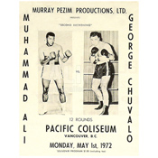 Muhammad Ali / George Chuvalo II Program