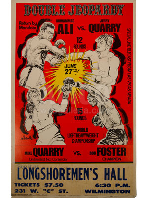Muhammad Ali / Jerry Quarry II Poster