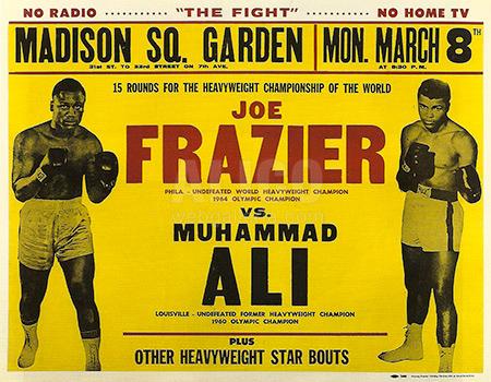 Muhammad Ali Joe Frazier I Poster Web Galleria