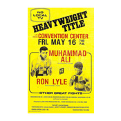 Muhammad Ali / Ron Lyle Poster