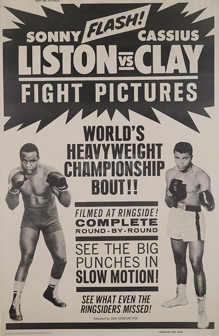 Cassius Clay / Sonny Liston I Closed Circuit Poster