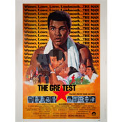 "Muhammad Ali ""The Greatest"" Movie Poster"