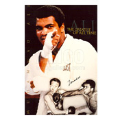 Muhammad Ali / Brian London Autographed Poster
