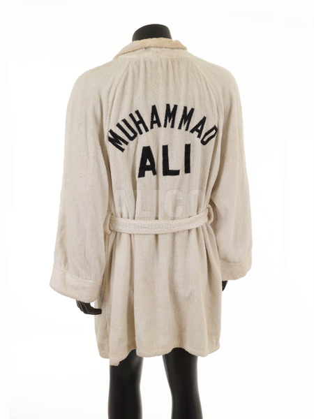 Training Robe from Muhammad Ali / George Foreman - October 30, 1974