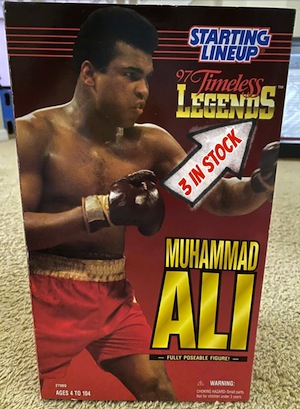 Muhammad Ali 1997 Starting Lineup Timeless Legends Doll $75.00