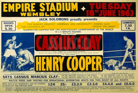 Cassius Clay / Henry Cooper I Poster