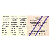 Muhammad Ali / Henry Cooper II On-Site Ticket