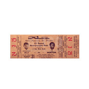 Muhammad Ali / Ken Norton I Ticket